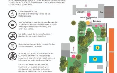 Abren las Piscinas de Verano del Polideportivo Municipal Mariano Rojas