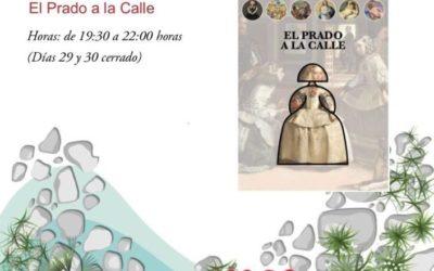 """Exposición """"El Prado a la calle"""" en la Biblioteca Municipal Padre Salmerón"""