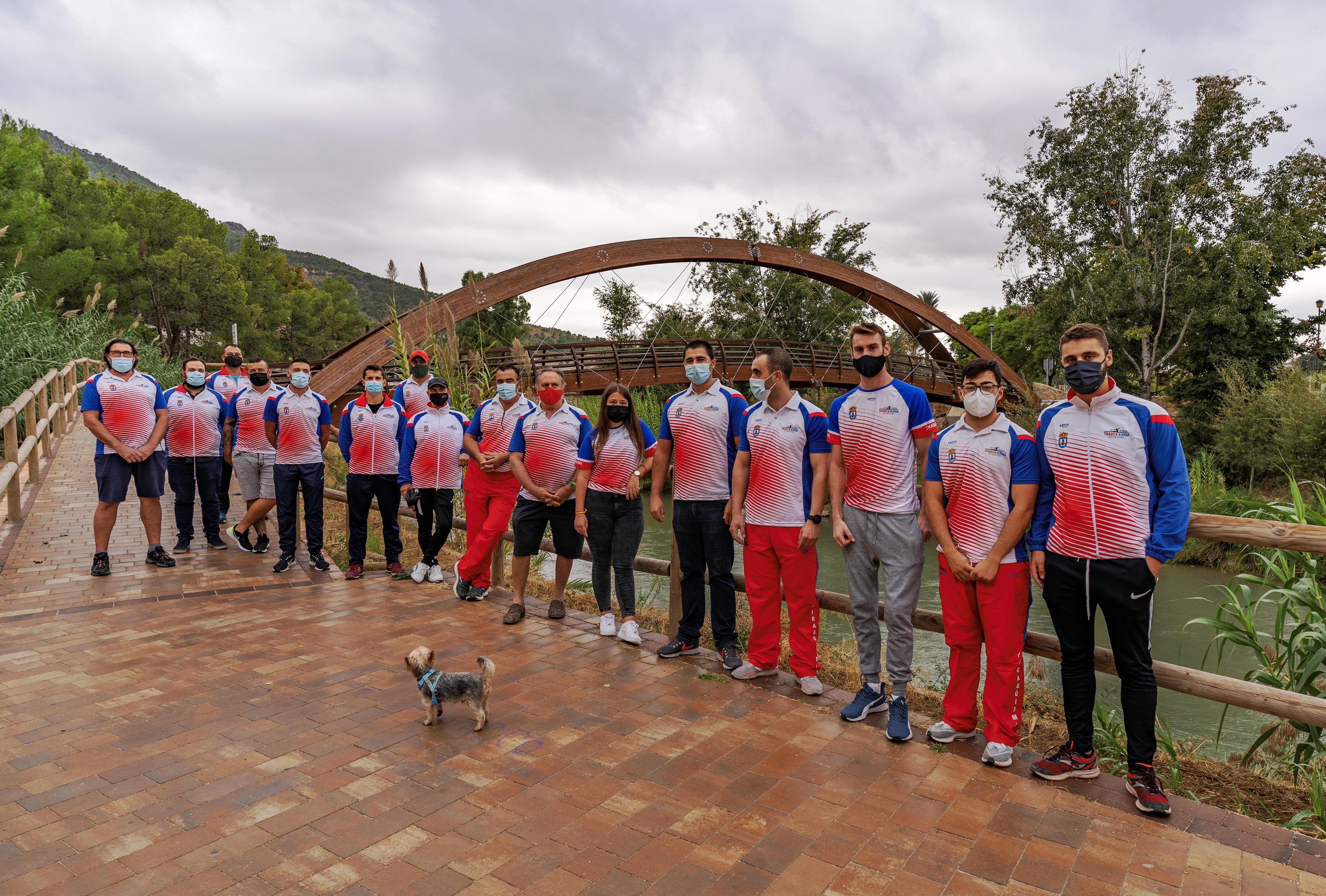 El Club de Piragüismo Thader Kayak de Cieza ha fijado un objetivo para 2021, 'El Río Que Nos Une'