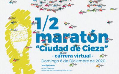 """Este año la XXXI Media Maratón Ciudad de Cieza será """"VIRTUAL"""" y abre ya las inscripciones"""