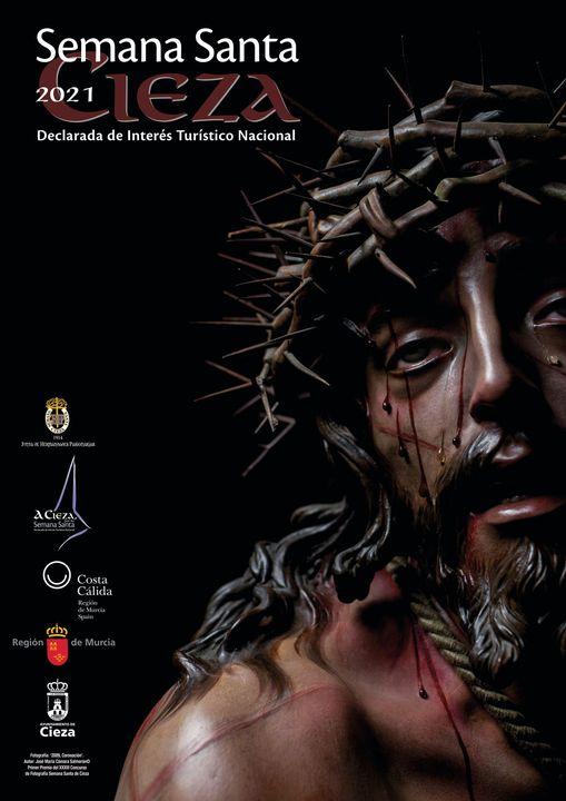 Cartel de la Semana Santa de Cieza 2021