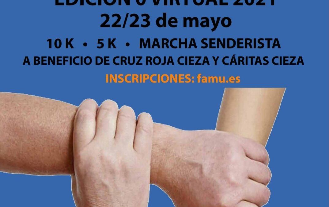 Carrera y Marcha Solidaria Virtual Down Cieza 2021