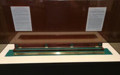 La pieza de mayo de 2021 en el Museo de Siyâsa: Un metro patrón de Malabouche de 1880