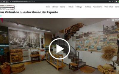 Ya se puede visitar el museo del esparto de cieza con el tour virtual en 3D
