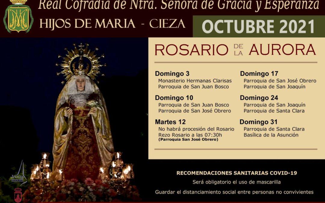 Rosario de la Aurora por la Cofradía de Nuestra Señora de Gracia y Esperanza