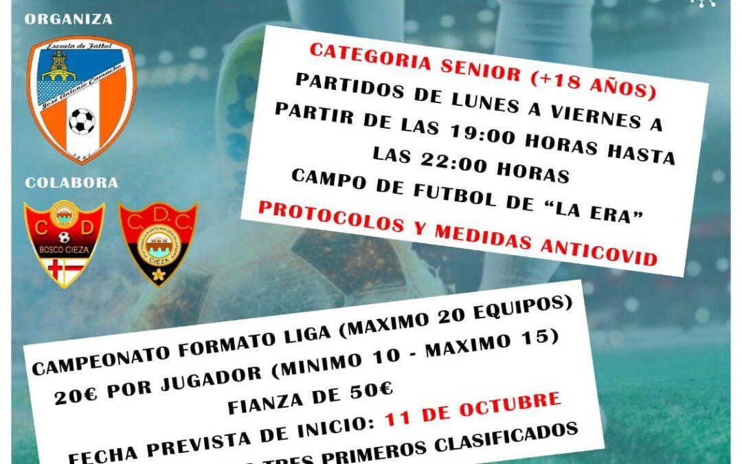 Arranca una nueva Liga Local de Fútbol 7, inscripciones ya abiertas