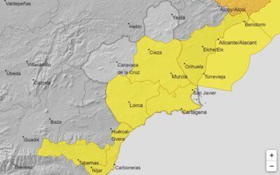 Nivel amarillo de alerta por fuertes lluvias